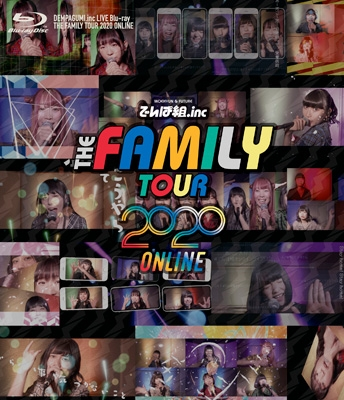 THE FAMILY TOUR 2020 ONLINE 【完全生産限定盤】(Blu-ray)