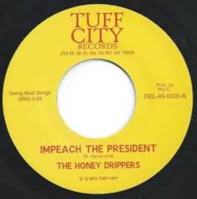 Impeach The President / Roy C's Theme (7インチシングルレコード)