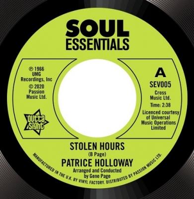 Stolen Hours / Love And Desire (7インチシングルレコード)