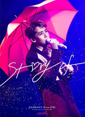 """NICHKHUN (From 2PM)Premium Solo Concert 2019-2020 """"Story of..."""" 【完全生産限定盤】(Blu-ray)"""
