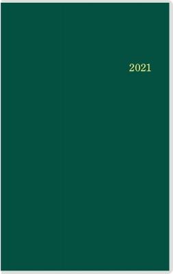 T'beau (ティーズビュー)インデックス 3(ディープグリーン)手帳 2021年 手帳判 ウィークリー クリアカバー 深緑 No.336(2021年版1月始