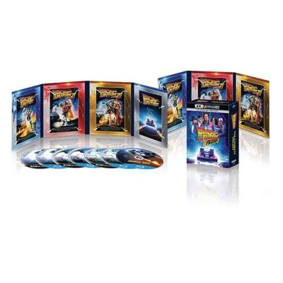 バック・トゥ・ザ・フューチャー トリロジー 35th アニバーサリー・エディション 4K Ultra HD +ブルーレイ