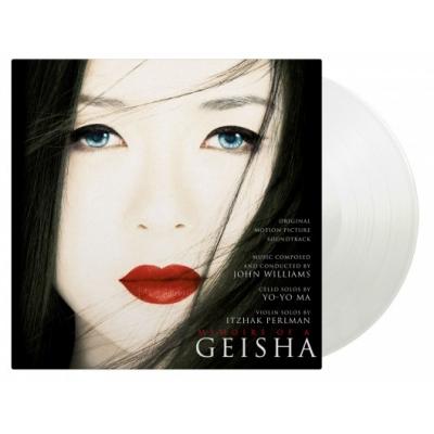 SAYURI / さゆり Memoirs Of A Geisha オリジナルサウンドトラック (ホワイト・ヴァイナル仕様/2枚組/180グラム重量盤レコード/Music On Vinyl)