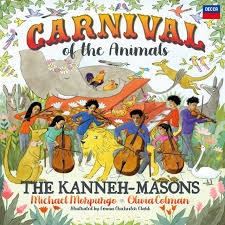 『動物の謝肉祭』 カネー=メイソンズ、マイケル・モーパーゴ、オリヴィア・コールマン (2枚組アナログレコード)