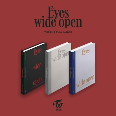 2nd Album: Eyes wide open (Random Cover)