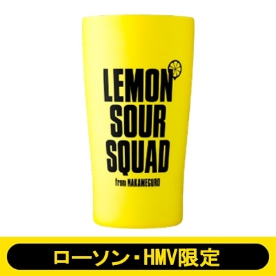 EXILE公式 LEMON SOUR SQUAD 真空・断熱タンブラー BOOK YELLOW ver.