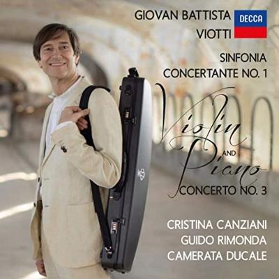Sinfonia Concertante, 1, Violin Concerto, 3, : Rimonda(Vn)/ Camerata Ducale Canziani(P)