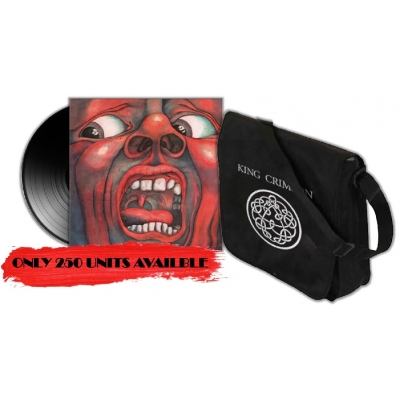 In The Court Of The Crimson King (+レコードバック)
