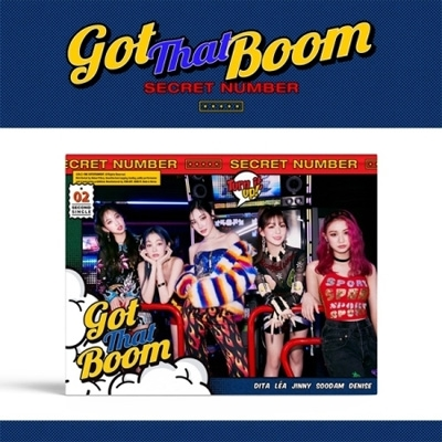 2nd Single Album: Got That Boom