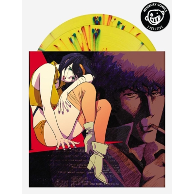 カウボーイビバップ Cowboy Bebop オリジナルサウンドトラック (イエロー/レッド/ブルー スプラッター半透明ヴァイナル仕様/2枚組アナログレコード)