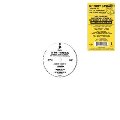 Return To The 36 Chambers (Instrumental Versions)【2020 RECORD STORE DAY BLACK FRIDAY 限定盤】(2枚組アナログレコード+7インチシングルレコード)