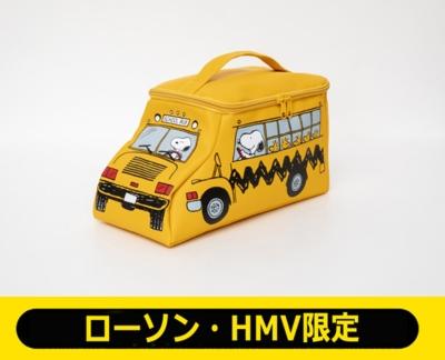 SNOOPY スクールバスのマルチポーチ BOOK