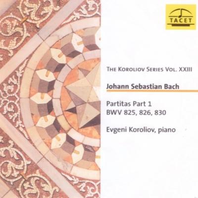 パルティータ第1番、第2番、第6番 エフゲニー・コロリオフ(ピアノ)(2CD)