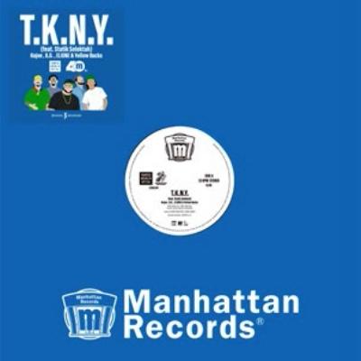 T.K.N.Y.(feat.Statik Selektah)(12インチシングルレコード)