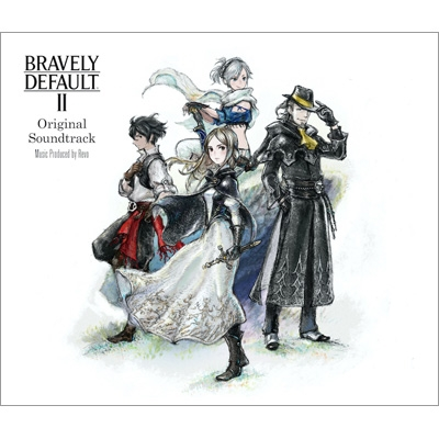 BRAVELY DEFAULT II Original Soundtrack (3CD)
