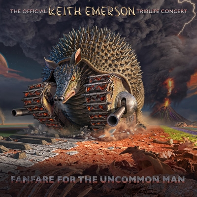 Fanfare For The Uncommon Man: The Official Keith Emerson Tribute Concert (2CD+2DVD)