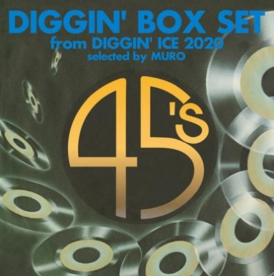 DIGGIN' BOX SET from DIGGIN' ICE 2020 selected by MURO (3枚組7インチシングルレコード/BOX仕様)