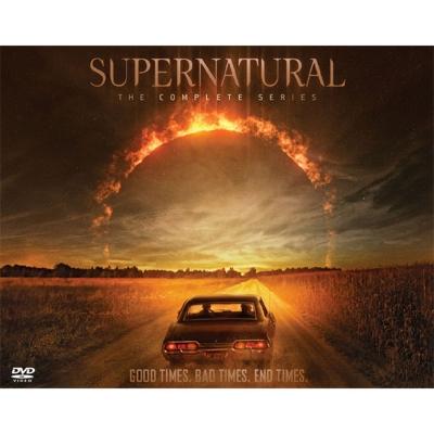 【初回限定生産】SUPERNATURAL DVD コンプリート・シリーズ(82枚組+ボーナス・ディスク8枚付/封入特典付)