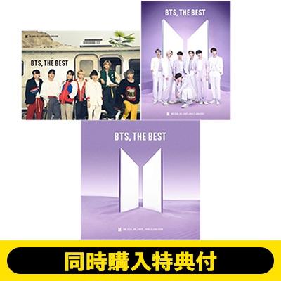 《3形態同時購入特典付き》 BTS, THE BEST 【初回限定盤B(+2DVD)】+【初回限定盤C】+【通常盤】