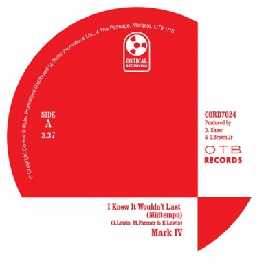 I Knew It Wouldn't Last (Midtempo Version)/ How I Feel For You (Ourra Remix)(7インチシングルレコード)