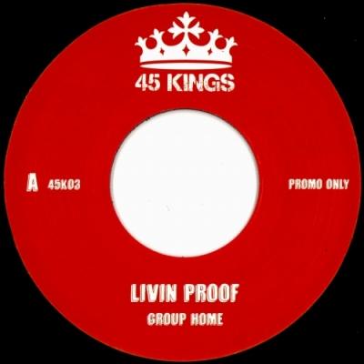 Livin' Proof / Supa Star (7インチシングルレコード)