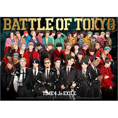 BATTLE OF TOKYO TIME 4 Jr.EXILE(+3Blu-ray)