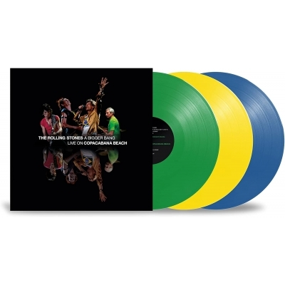 Bigger Bang Live On Copacabana Beach (カラーヴァイナル仕様/3枚組/180グラム重量盤レコード)