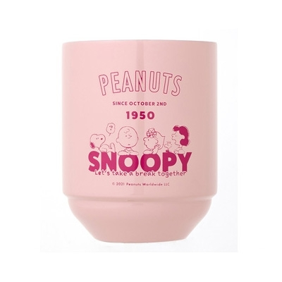 SNOOPY 真空断熱 スタッキングタンブラー BOOK サリー・ブラウン LIMITED PINK