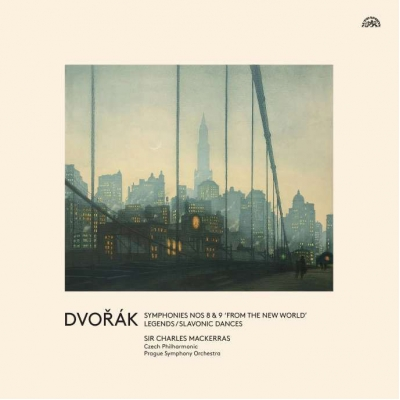 交響曲第8番、第9番『新世界より』 他 チャールズ・マッケラス&プラハ交響楽団(2005年ライヴ)(3枚組アナログレコード)