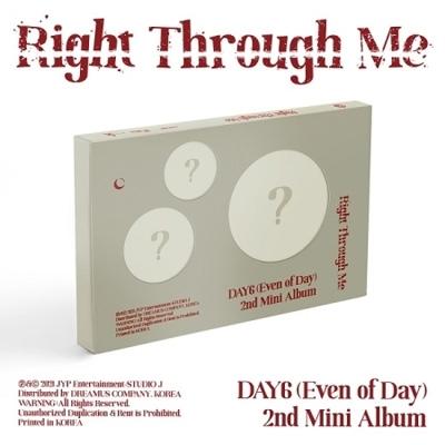 2nd Mini Album: Right Through Me