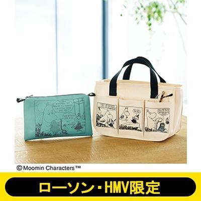 2021年9月号 特別号 Moomin(ムーミン)ポーチ付き インテリアバッグ