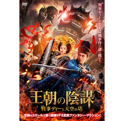 王朝の陰謀 判事ディーと天空の塔 [DVD]