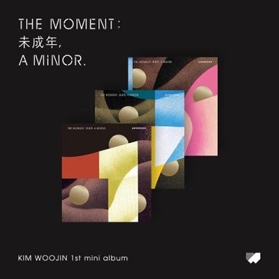 1st Mini Album: THE MOMENT: 未成年, A MINOR.(ランダムカバー・バージョン)
