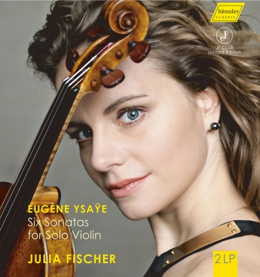 6つの無伴奏ヴァイオリン・ソナタ ユリア・フィッシャー (180グラム重量盤レコード)
