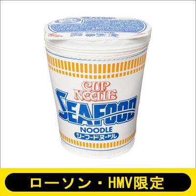 CUP NOODLE 50TH ANNIVERSARY シーフードヌードル ポーチ BOOK special package ver.