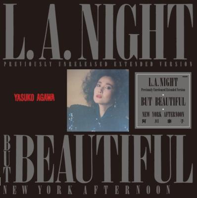 L.A.NIGHT【2021 レコードの日 限定盤】(カラーヴァイナル仕様/12インチアナログレコード)