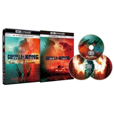 ゴジラ vs コング 4K Ultra HD Blu-ray3枚組