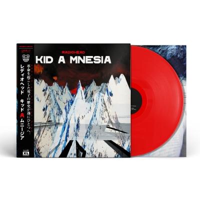 Kid A Mnesia (帯付/レッドヴァイナル仕様/3枚組アナログレコード)