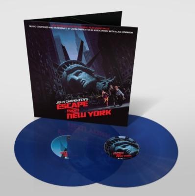 ニューヨーク1997 Escape From New York オリジナルサウンドトラック (ブルー・ヴァイナル仕様/2枚組アナログレコード)