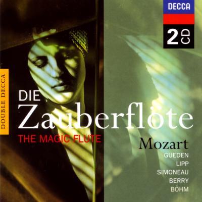 歌劇『魔笛』全曲 ベーム&ウィーン・フィル、シモノー、ギューデン、ベリー、リップ、ベーメ、他(2CD)