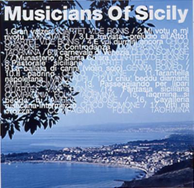 シチリアへ Musicians Of Sicily