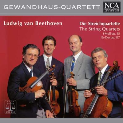 String Quartet.11, 12: Gewandhaus Q