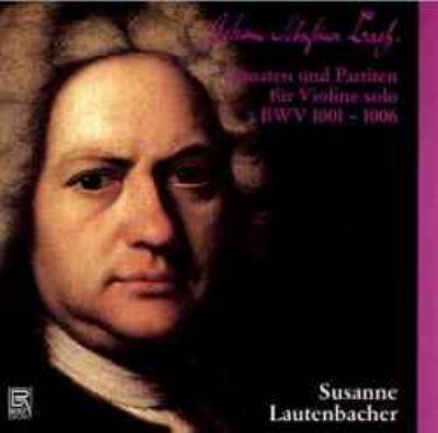 無伴奏ヴァイオリンのためのソナタとパルティータ全曲 ラウテンバッハー(1964)(2CD)