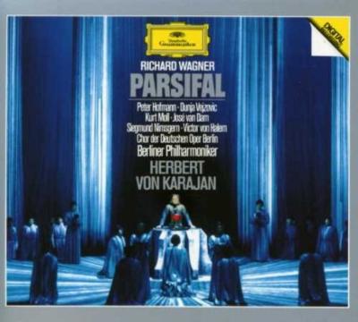 『パルジファル』全曲 カラヤン&ベルリン・フィル、ホフマン、モル、ヴェイソヴィチ、ヴァン・ダム、ニムスゲルン、他