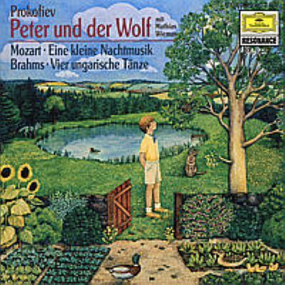 Peter & Wolf: Maazel / Ortf +mozart: Serenade.13, Brahms: Karajan / Bpo