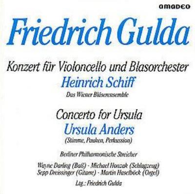 Cello Concerto: H.schiff(Vc)/ Wiener Blasersolisten +concerto For Ursula