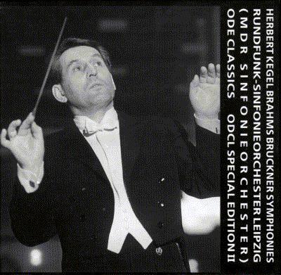 ブラームス:交響曲集(第1、2、4番)、ブルックナー:交響曲集(第4、7、9番) ケーゲル&ライプツィヒ放送響