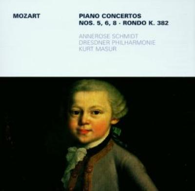 Piano Concerto.5, 6, 8: Annerose Schmidt(P)Masur / Dresden.po