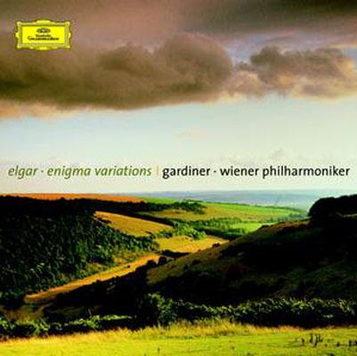 エニグマ変奏曲、序奏とアレグロ、南国にて、ほか ガーディナー&ウィーン・フィル
