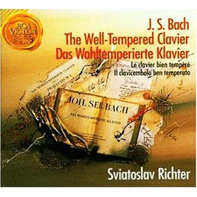 平均律クラヴィーア曲集全曲 リヒテル(4CD)